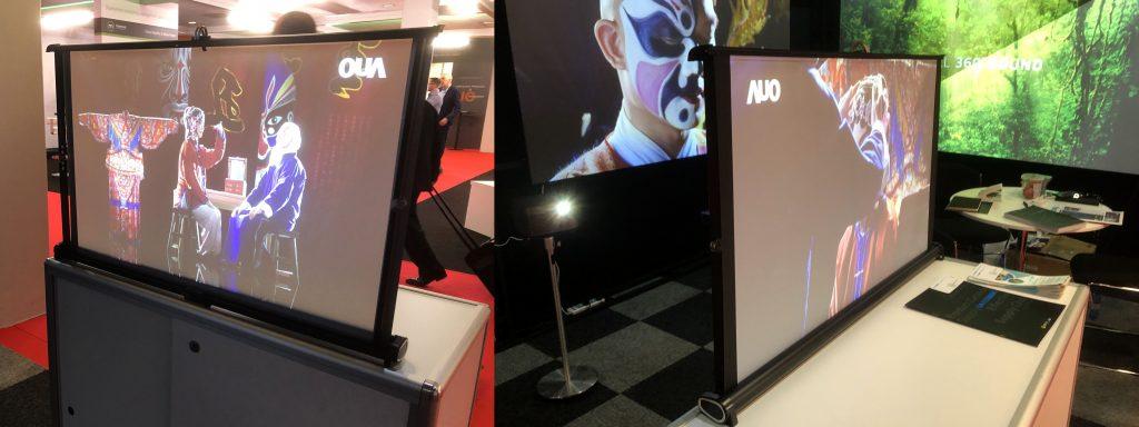 Comtevision écran double face