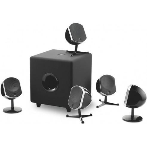 Focal Little Bird & Cub3 - Pack enceintes home cinéma design 5.1 blanc ou noir