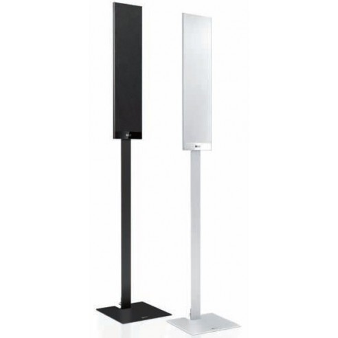 KEF Stand serie T - Pieds aluminium noir ou argent/blanc pour Kef T101 et T301