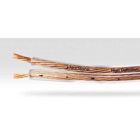 Norstone Classic CL250 - Câble Haut-Parleur 2,5mm² transparent