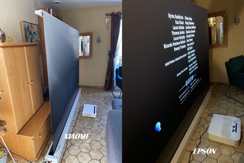 Test Mi laser projector 150 version globale
