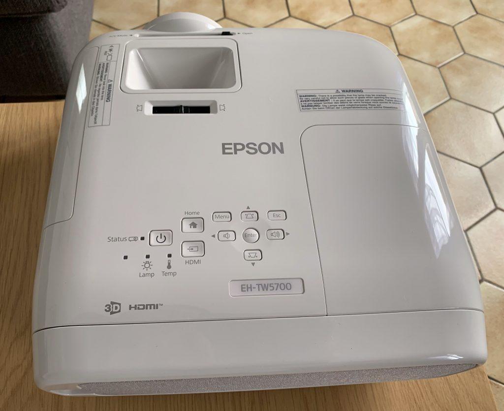 Test Epson EH-TW5700