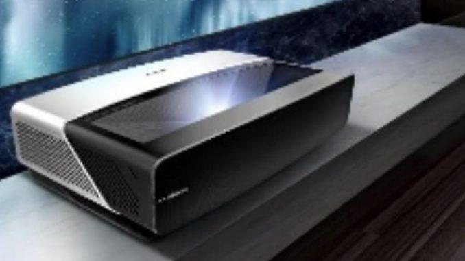 hisense trichroma™ laser tv