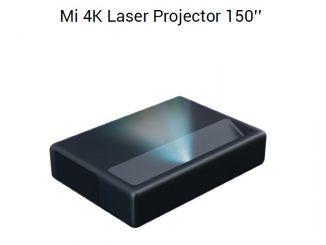 MI 4K laser projector