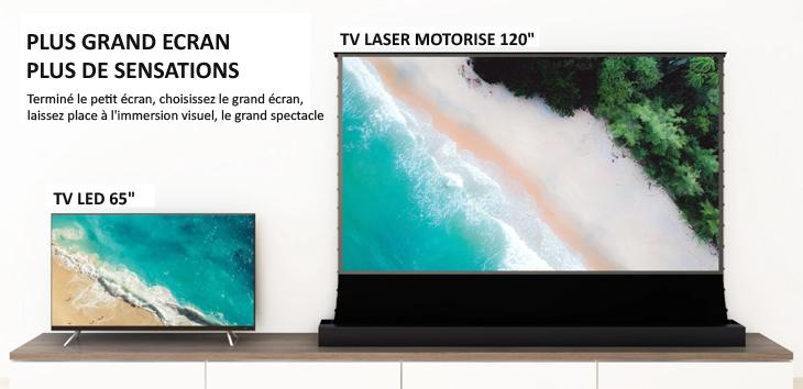 vividstorm floorPro UST ALR comparaison television