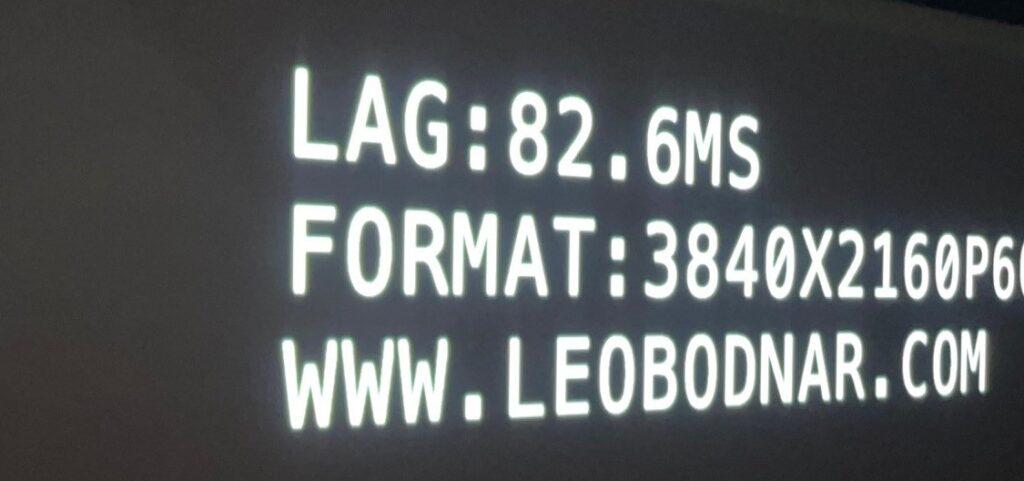 Test LG HU810PW